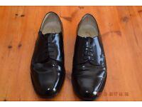 Men's black leather dress shoes size 8 1/2