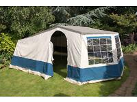 Cabanon 6 berth frame tent 5 X 4 meters