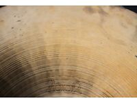 "Paiste 2002 20"" Ride cymbal - 1977 - Hollow black logo"