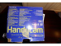 Video 8 Handycam Model number CCD-TR420E PAL