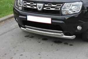 pare buffle inox dacia duster bull bar double front duster stainless steel ebay. Black Bedroom Furniture Sets. Home Design Ideas
