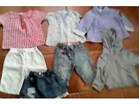 9-12 Months Girl's Summer Mix & Match clothing bundle x7 BARGAIN at £1 each
