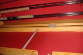 rod cabnet holds 7 rods in main holders plus more room in door panels