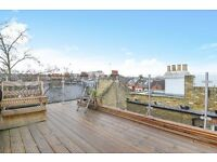 A WELL PROPORTIONED TWO DOUBLE BEDROOM PROPERTY WITH LARGE PRIVATE ROOF TERRACE ON NORTHCOTE ROAD
