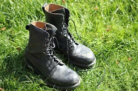 Army boots 9 m | Re-enforced toe | Great condition