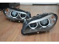BMW 5 series F10/F11 LCI complete xenon headlight left and right pair 7317133 / 7317134