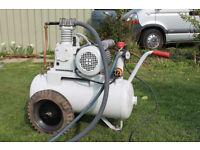 Workshop Air Compressor 1.5HP Single Phase, 85 litre tank, 150 psi.
