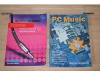 2 X Home studio recording books