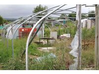 Industrial Sized Poly Tunnel Frame For Sale