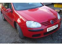 vw golf tdi-se 2005-05 reg