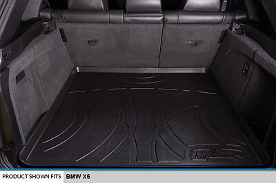 MAXTRAY All Weather Custom Fit Cargo Liner Mat for BMW X5 Black