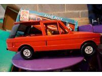Vintage Sindy Red Range Rover