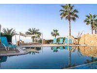Cyprus, Paphos 4 bedroom beachfront villa on first sea line