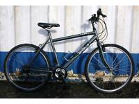 British Eagle Tulsa Town Bike 20 Inch Fully Serviced Free Lock