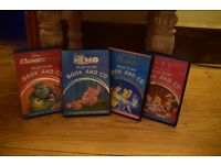 4 Disney Read to Me Book and CD