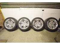 """Range Rover Sport 21"""" 507 Alloys Wheels With Pirelli Tyres"""