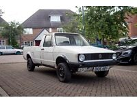 Volkswagen Mk1 Caddy Rolling project
