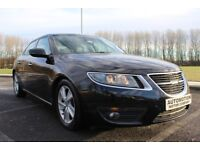 2010 Saab 9-5 2.0 TiD Vector SE 4dr 98,000 Black Fsh Very Clean Example £5495