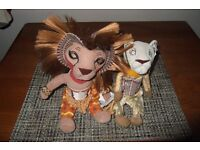 Lion King Musical stuffed toy collectibles
