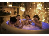 Hot Tub Hire *87 Powerful Jets* * Heats 40°C* * LED Lights* *Music* £149 Hire* 07969007007
