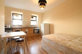 Spacious studio flat located in Newington Green, N16.