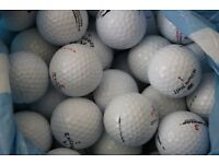 84 Golf Balls Assorted Dunlop Titleist Srixon Pinnacle