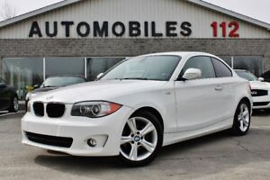 2013 BMW 1 Series 128i / Impeccable !!