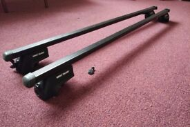 Mont Blanc Roof Bars with locking key