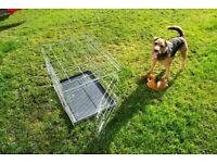 Medium to large Dog Cage - L 60cm x W 43cm x H 50cm