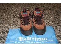 Ladies Karrimor walking shoes