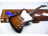 2015 Gibson Firebird Non Reverse Limited Edition Vintage Sunburst & Gibson Case & Tags