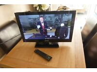"""BLAUPUNKT 23"""" LED TV WITH FREEVIEW AND BUILT-IN DVD PLAYER"""