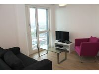 Lovely high floor apartment in Marner Point - Gym & Balcony - next to Bromley By Bow station E3 E15