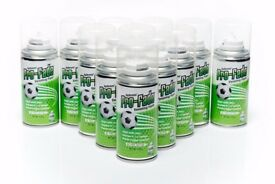 Footballs Latest Vanishing Spray used in Football for Training and Play x12 150ml Cans