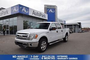 2013 Ford F-150 XLT XTR 4X4| EcoBoost| Rear View Camera with Sen