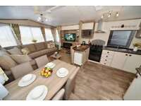 Brand new Static caravan home - picturesque location, 11 month Season, Double Glazed 3 bed home.