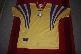 Romanian Football Shirt by Adidas.