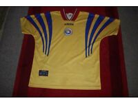 Romanian Football Shirt by Adidas.