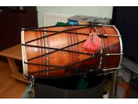 One Dhol Jas Musicals straight dhol with case left. BARGAIN. Reduced for quick sale. Need Space.