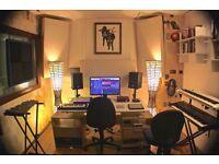 Recording studio / Rehearsal / Production / Music studio share