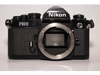 NIKON FM2 VINTAGE FILM ANALOGUE BLACK PROFESSIONAL CAMERA! FULLY WORKING! OPEN TO SERIOUS OFFERS!!