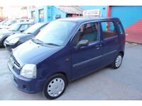 Vauxhall Agila 1.0 i 12v Expression 5dr 1 LADY OWNER FROM BRAND NEW