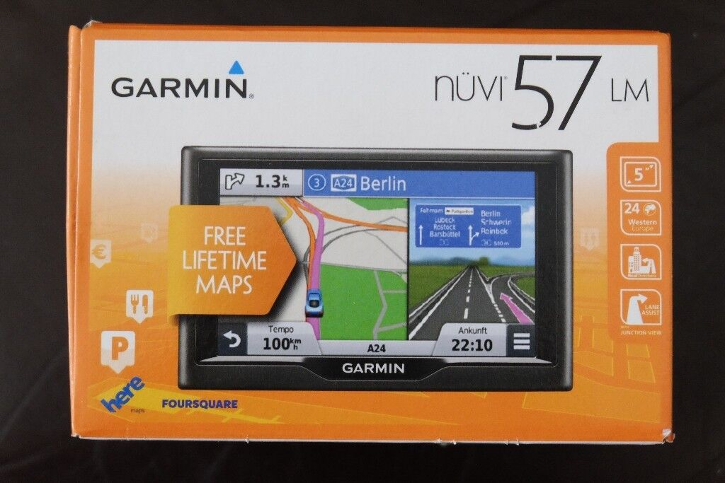 GPS Garmin Nuvi 57lm 5 Inch Satellite Navigation With SOFT CASE | in  Southampton, Hampshire | Gumtree