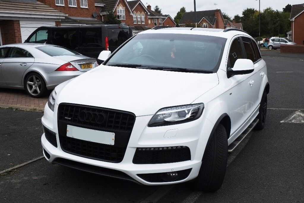 Audi Q7 61 Reg, Low Miles Full Service History Limited Edition Black Pack
