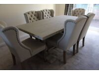 Brand new beautiful Dining Table and 6 Chairs