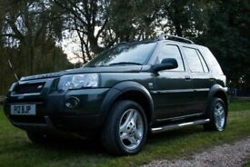 Landrover Freelander 2006 Auto, 2.0 TD4 HSE, 5Dr Freestyle Station Wagon. 4wd, Green