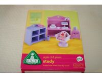 ELC Rosebud dolls house - furniture for the study / office