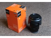 Sony 18-105mm SELP18105G f/4 OSS E-Mount Zoom Lens