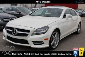 2014 MERCEDES CLS 550 4MATIC/AWD NAVIGATION, CAMERA, XENON, TOIT