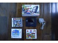 NINTENDO 2DS CONSOLE BLUE/BLACK - MARIO KART 7. PLUS EXTRA GAMES - SUPER MARIO LAND, BATMAN & MORE!